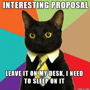 Una propuesta indecorosa