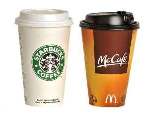 ¿Un cafecito? Starbucks oMcCafé