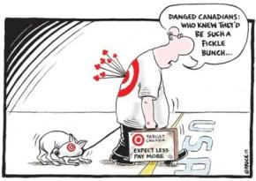 Target se va deCanadá