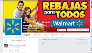 Facebook Walmart