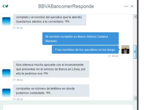 Bancomer Responde